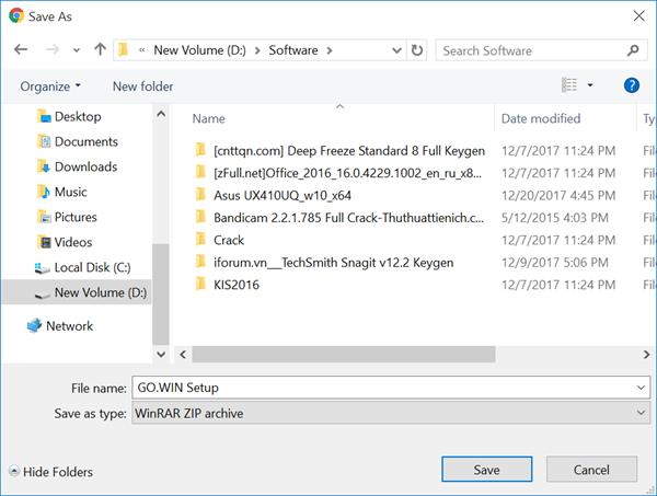 Gowin PC client 1